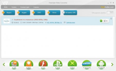 Freemake Video Converter portable