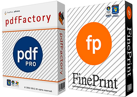 FinePrint Server and pdfFactory Pro + Ключ