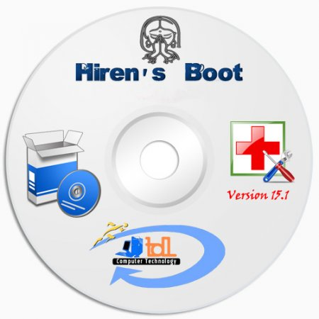 Hirens BootCD 15.2 + Русская версия