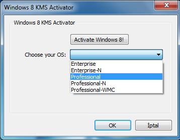 Активатор Windows 8