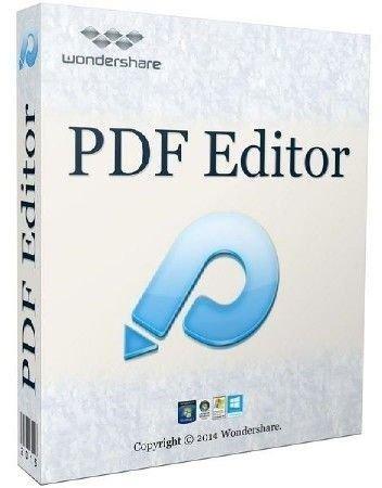 Wondershare PDF Editor + Русская версия