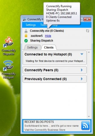 Connectify Pro 2015 + Ключ - Wi-Fi через ноутбук