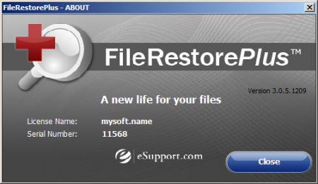 FileRestorePlus 3.0.5 + Ключ