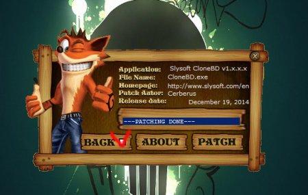 Slysoft CloneBD 1.0.2.7 + Ключ