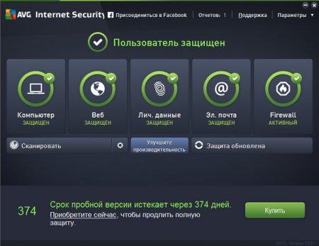 AVG Internet Security + Ключи