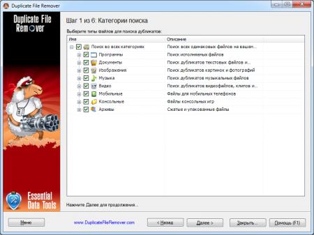 Duplicate File Remover portable