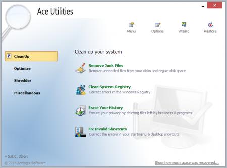 Ace Utilities на Русском portable