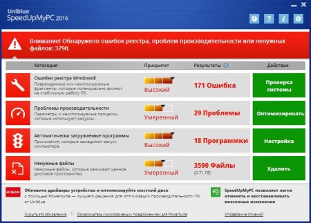 Uniblue SpeedUpMyPC portable