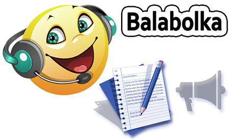 Balabolka Русский голос