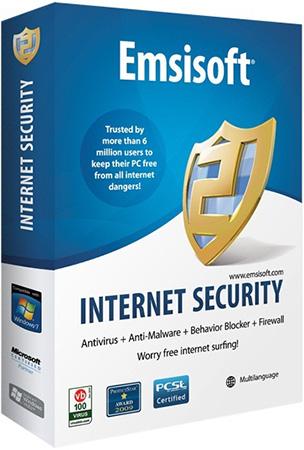 Emsisoft Internet Security + Ключ
