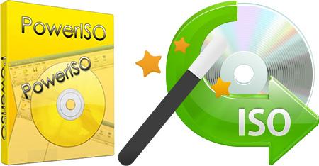 PowerISO + Ключ