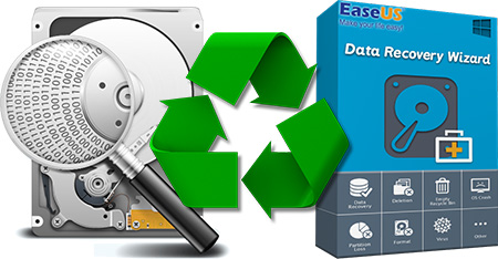 EaseUS Data Recovery Wizard + Ключ