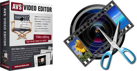 AVS Video Editor + Ключ