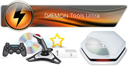 DAEMON Tools Ultra + Ключ