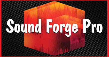 Sound Forge Pro 11 + Ключ активации