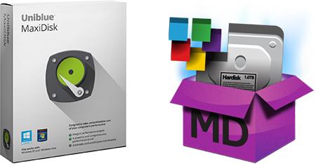 Uniblue MaxiDisk 2017 + Ключ
