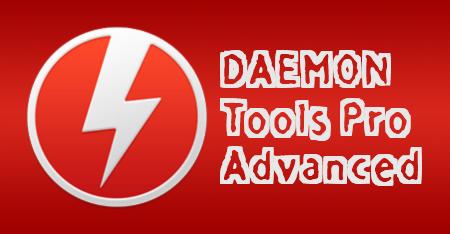 DAEMON Tools Pro + Ключ