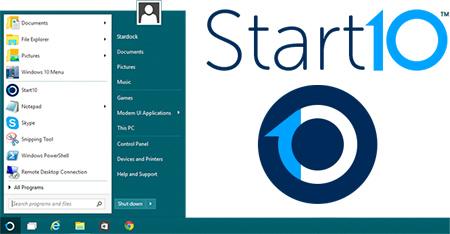 Stardock Start10 – кнопка пуск для Windows 10