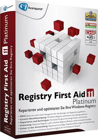 Registry First Aid Platinum + Ключ