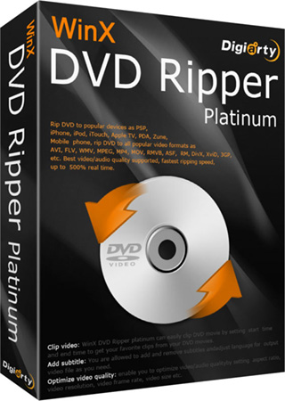 WinX DVD Ripper Platinum + Код активации